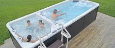 Wellness, Protections solaires, pergolas, piscines, mobilier de jardin Tub, Outdoor Decor, Home Decor, Gardens, Pools, Solar, Openness, Bathtubs, Decoration Home
