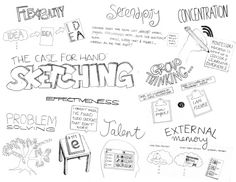 Hand-Sketching: Things You Didn't Know Your Doodles Could Accomplish