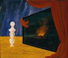 René Magritte - Nocturne, 1925