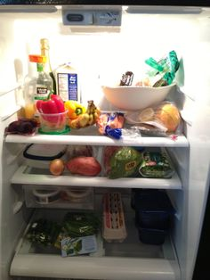 Eat the rainbow!  What's in your fridge? Food for fuel.