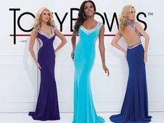 Tony Bowls Paris 114721, PROM DRESS WITH LOW BACK