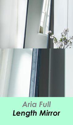 Aria Full Size Mirror - #mirror Mirror Mirror, Industrial Style, Room Decor, Decoration, Wall, House, Dekoration, Home Decor, Haus