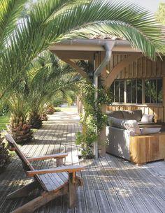 Maison en bois au Cap Ferret pour grande famille