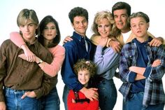 Growing Pains. Even though the main guy went crazy, I still used to like this show.