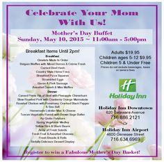 #holidayinnbuffalodowntown #holidayinnbuffaloairport #mothersday #buffalony