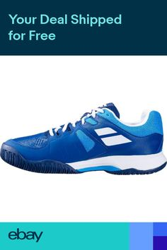 save off ec0b4 65566 BABOLAT Pulsion All Court Mens Tennis Shoes Sneakers Blue -Auth Dealer -Reg   90