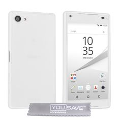 Yousave Accessories Sony Xperia Z5 Compact 0.6mm Ultra-Thin Clear Gel Case | Mobile Madhouse
