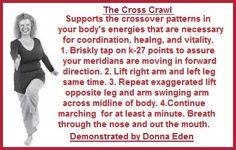 Donna Eden's five-minute daily energy routine balancedwomensblog.com