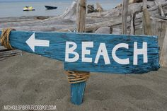 michelle paige: An Old 'Washed Up' Beach Sign