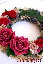 ☆米寿のお祝いに☆リース 4th Of July Wreath, Floral Wreath, Wreaths, Gifts, Home Decor, Floral Crown, Presents, Decoration Home, Door Wreaths