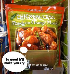 Unexpected VEGAN items at Trader Joe's - YUM!!