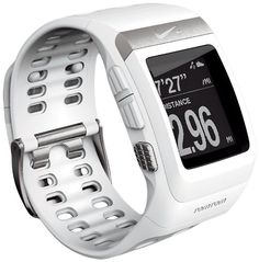 Nike+ SportWatch GPS Powered by TomTom (White) at http://suliaszone.com/nike-sportwatch-gps-powered-by-tomtom-white/