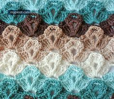 "MyPicot | ""Crochet Texture Stitch"" 