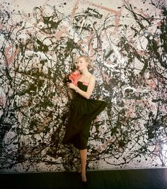 It's Jackson Pollock's World, We're Just Living in It