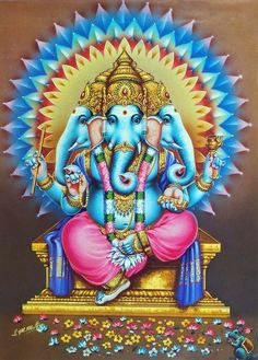 16 Names and forms of Lord Ganapathi - Sakthi Vikatan Ganesha Pictures, Ganesh Images, Lord Krishna Images, Ganesha Drawing, Ganesha Painting, Ganesha Art, Shri Ganesh, Lord Ganesha, Shiva Art