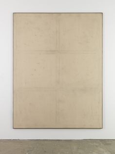Peres Projects - DAVID OSTROWSKI F (Dann lieber nein), 2012  Oil, lacquer and dirt on canvas in wood frame  221 x 171 cm (87.01 x 67.32 inches)