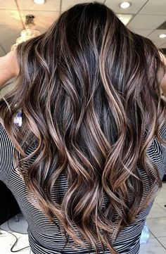 51 Gorgeous Hair Color Worth To Try This Season balayage hair color, light brown hair color ideas, hair colours 2019 hair color trends, best hair color for fall hair colors best hair color for hair color ideas for brunettes, light brown hair Brown Hair Shades, Brown Hair With Blonde Highlights, Brown Hair Balayage, Hair Color Highlights, Light Brown Hair, Hair Color Balayage, Brown Hair For Fall, Highlights For Brunettes, Dark Hair