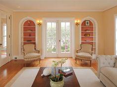 Formal living room/reading nooks.  Photo: Jacob Elliott.