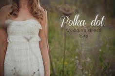 Wedding dresses on pinterest polka dot wedding reem acra bridal and