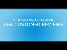 Want to comment about a business without filing a complaint? Your BBB now offers Customer Reviews | Watch Your Buck |