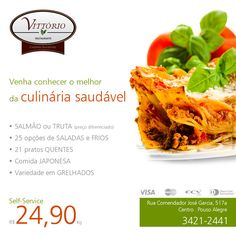 Cliente: Restaurante Vittório  Peça: Rede Sociais