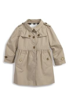 Burberry 'Melody' Coat (Baby Girls) available at #Nordstrom