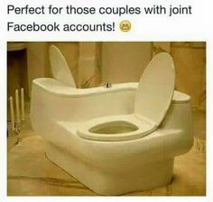 """I'll see your """"Cuddle Couch"""" and raise you """"The Love Toilet"""", funny pictures, funny memes, couch, toilet Cuddle Couch, Funny Memes, Hilarious, Funny Fails, Funny Laugh, Design Fails, Design Design, Valentino, Funny Pictures"""