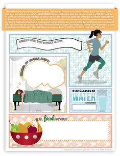 Healthy Habits handout for Choice and Accountability