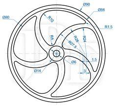 Isometric Drawing Exercises, Autocad Isometric Drawing, Bike Drawing, Cad Drawing, Object Drawing, Mechanical Engineering Design, Mechanical Design, Cnc, Learn Autocad