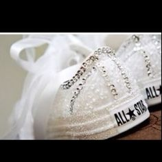 Even if I have to make them myself, & even tho I will be barefoot for my ceremony...this IS happening for my reception, & they will be framed in a shadow box for my bedrroom wall...Wedding Converse