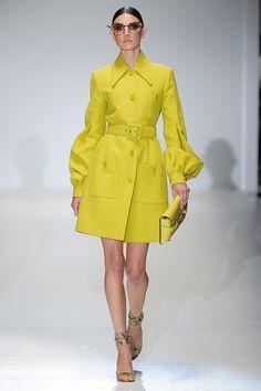 Gucci Printemps-été 2013  Yellow Coat