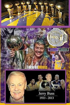 Dr. Buss R.I.! God Bless You. May Smile down the Heaven & bring The Lakers & LakerNation the Good Fortune that You bought us while Owning the Lakers & Bring Joy Smile & Cheer to Millions of Lakers Fans around the World. You Will be Missed A True Owner, True Winner, True Trendsetter, True Visionary, The True Inventor of Showtime on Hardwood! A True Pioneer &  A Person Who made the Hollywood Stars His & His ShowTime & Lakers Fans 4 Life! R.I.P.