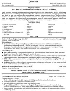 java developer resume sample ~ Gopitch.co