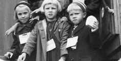 Finnish child evacuees