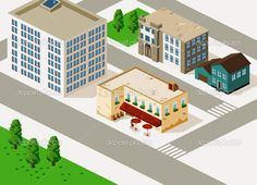 depositphotos_1607570-Old-cafe-and-Building-Isometric.jpg (1024×740)