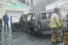 Windsor Terrace CAr fire 2-24-2012