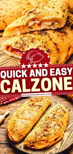 Learn how to make Calzone with pizza dough for easy weeknight dinners! Stuffed with sauce, mozzarella cheese, Canadian bacon, and pepperoni, this kid-friendly meal is hearty, filling, and delicious. Make this easy dinner recipe for your family! Filling ideas included! Pizza Recipes, Easy Dinner Recipes, Yummy Recipes, Easy Meals, Yummy Food, Tasty, How To Cook Sausage, How To Cook Chicken, Mozzarella Cheese Nutrition