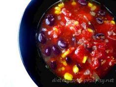 Zupa meksykańska Chili, Beans, Vegetables, Chile, Vegetable Recipes, Chilis, Beans Recipes, Veggies