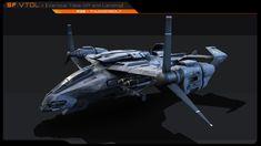 VTOL - A30 Thunderbolt 3D asset   CGTrader 3d Assets, Unreal Engine, Albedo, Cinema 4d, Model, Scale Model, Models, Template