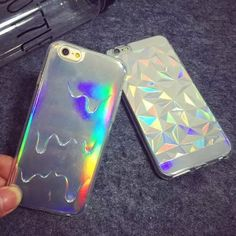 Melting ICE Cream. With Rainbow Color For iPhone 5 5s 6 6plus