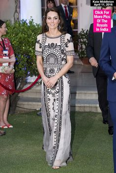 Kate Middleton's Royal Tour wardrobe while in India just keeps getting better and better! While usually she rocks affordable finds, on this occasion she stepped out in pretty, printed separates by British designer Alice Temperley -- and the stunning ensemble came with quite the price tag! Kate Midd...
