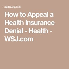 Sample Letter Of Appeal Health Insurance  HttpExampleresumecv