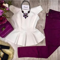 Fashion 2018, Work Fashion, Teen Fashion, Fashion Outfits, Casual Work Outfits, Trendy Outfits, Cute Outfits, Iranian Women Fashion, Baby Girl Party Dresses