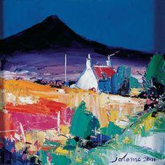 Ben Buie, Isle of Mull by John Lowrie Morrison - Art Prints Gallery Landscape Prints, Landscape Art, Landscape Paintings, Paintings I Love, Naive Art, Pictures To Paint, Artist Art, Cat Art, Framed Art Prints