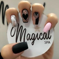 Clear Acrylic Nails, Clear Nails, Shoe Nails, My Nails, Almond Nails Designs Summer, Clear Nail Designs, Semi Permanente, Manicure, Short Square Nails