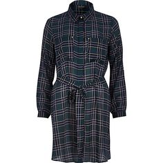 Green check shirt dress River Island Sold out :( Spencer Hastings, Pretty Little Liars, River Island, Dresses For Work, Mini Dresses, Evening Dresses, Cool Style, Party Dress, Plaid