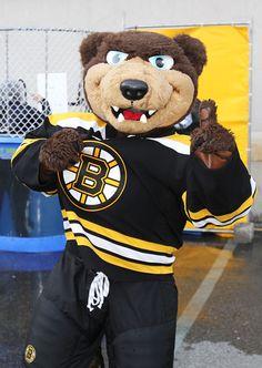 Blades, the mascot of the Boston Bruins Ice Hockey Teams, Sports Teams, Dont Poke The Bear, Patrice Bergeron, Sports Advertising, Bobby Orr, Boston Bruins Hockey, Helmet Logo, Boston Sports