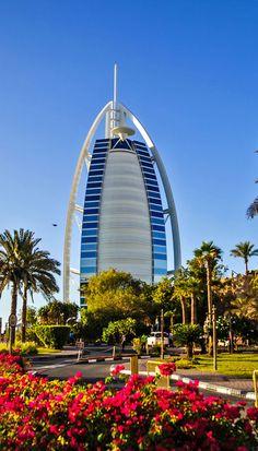 The world's first seven stars luxury hotel Burj Al Arab in Dubai, United Arab…