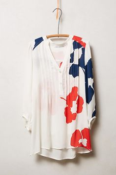 So in love with this blouse, but it's too hot for where I live.  Sumba Peasant Blouse