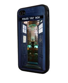 Tardis from Inside Doctor Who Iphone case